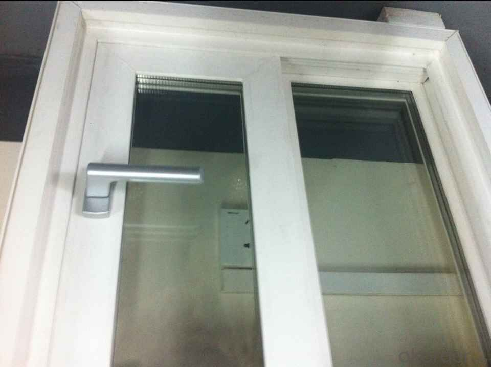 PVC window American and Europen style for wooden house