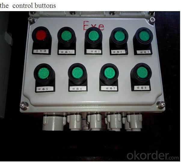 BMDX series Ex-proof & corrosion proof power distribution box/junction box/pull box