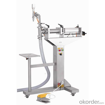 Table Type Piston Filling Machine for Viscosity