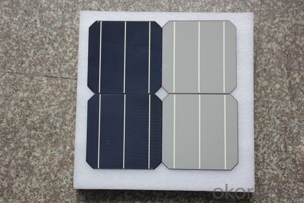 6 Inch 3BB Monocrystallin Best Solar Cell Price 17.6%
