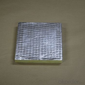 Aluminum Foil FSK insulation facing for Glasswool