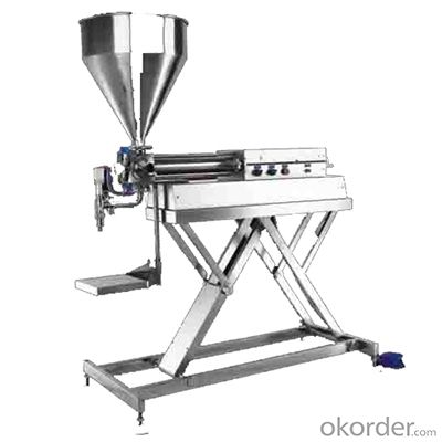 Table Type Piston Filling Machine for Viscosity