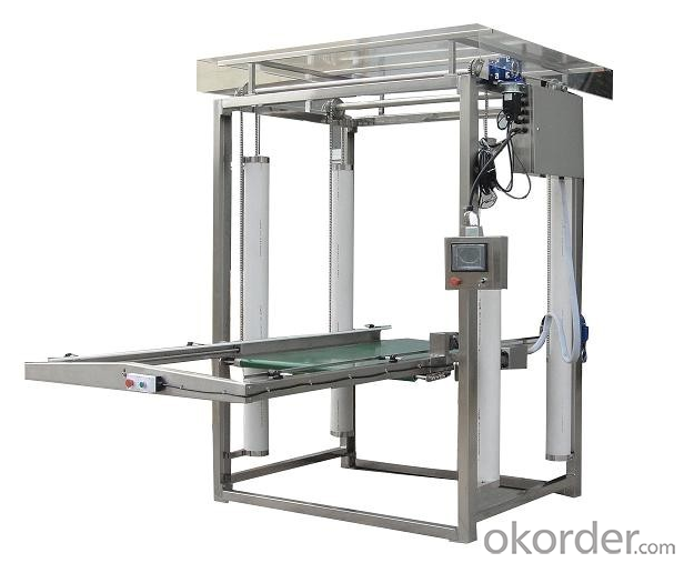 Palletizer for Metal Packaging Industry Use