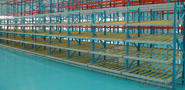 Flow Type Pallet Racking Systems for Warehouse
