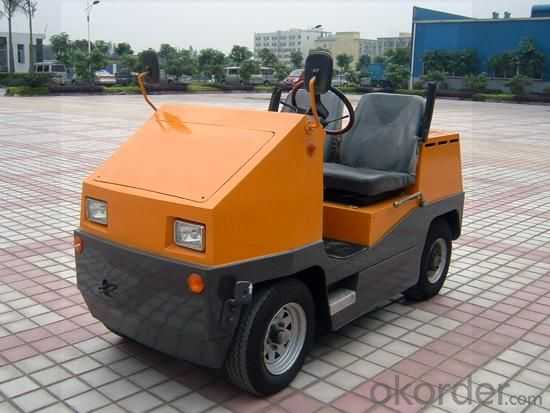 Electric Tow Tractor(8ton) Four Wheel