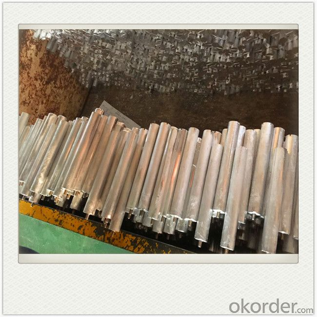 Extruded Magnesium Alloy Anodes Mg Alloy Extrusion for Water Heater
