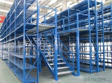 Mezzanine Type Pallet Racking System for Storage