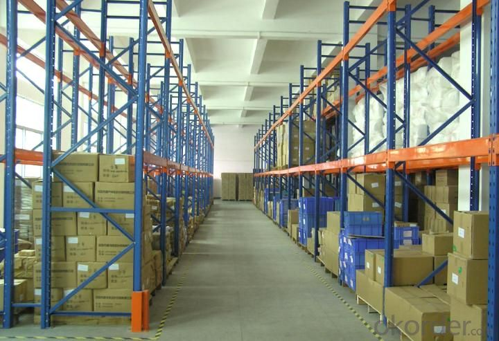 Heavy Duty Type Pallet Racking System for Warehouse