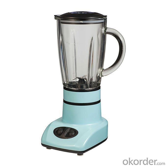 0.45L Mini Blender DZ-2009G Two Speeds Glass Jar