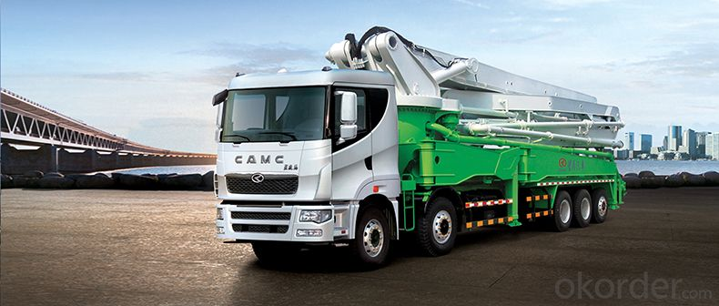 CAMC  Pump  Truck   Car series  Hanma H6