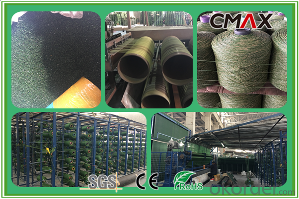 Landscape Artificial Turf with PU Coating Flooring Carpet