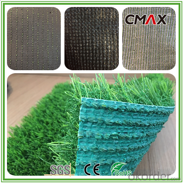 Outdoor Sport Artificial Turf for Running Track  Grass in Red
