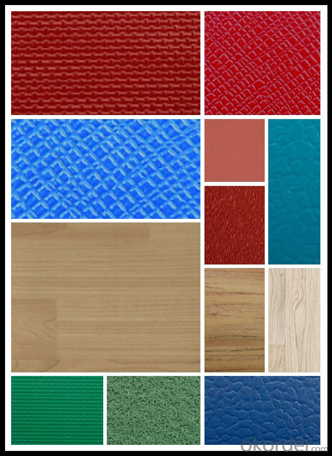 Waterproof Durable Healthy 4mm Interlock Click PVC Vinyl Flooring