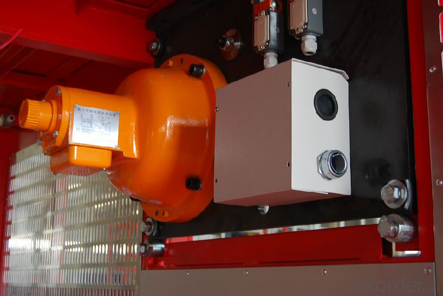 Building Hoist with CE Approved Construction SC200/200
