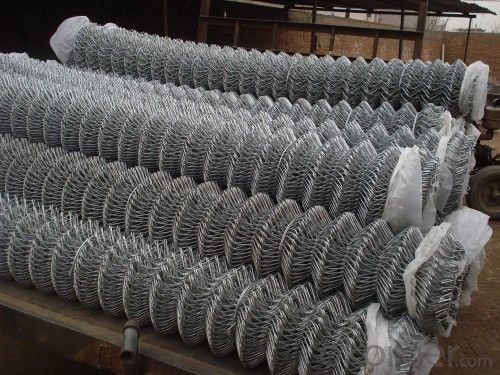 Anping High Quality Galvanized or PVC Coated Chain Link Fence