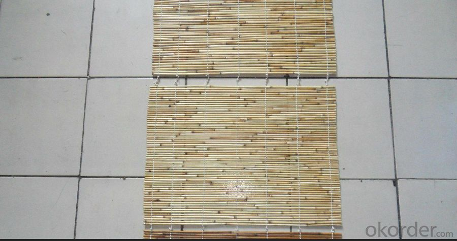 Natural Light Reed Cane Fence Panel Screen
