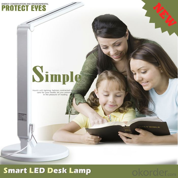 dimmable led desk lamp, touch control led desk lamp