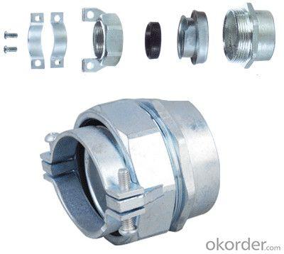 Flexible Conduit Connector (S-DPN) Zinc Die Casting, Rubber and iron