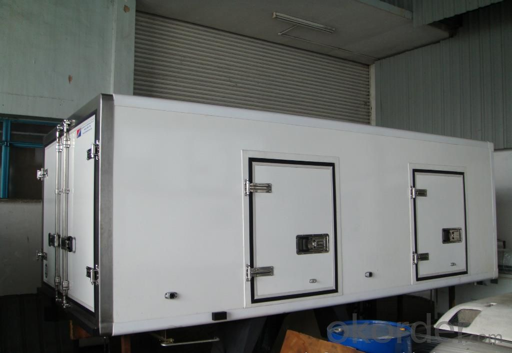 Application of FRP carriage plate
