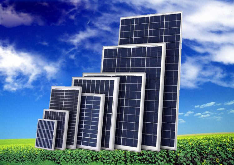 80W-130W Solar Panel Purchase from China Manufacturer