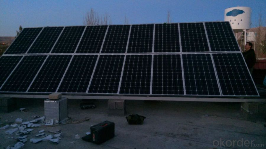 CE and TUV Approved 225W Mono Solar Panel