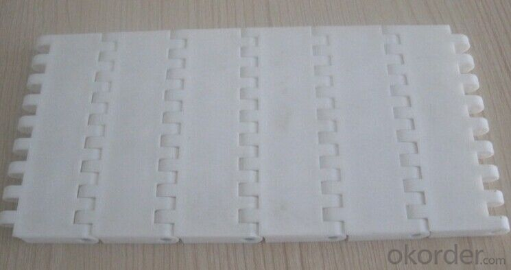 PP/POM Plastic Modular Conveyor Belt Pitch 25.4mm/27.2mm