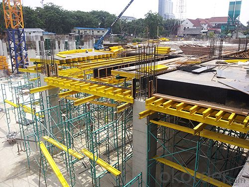 Timber Beam Formwork System & Ring-Lock Support for Table Formwork