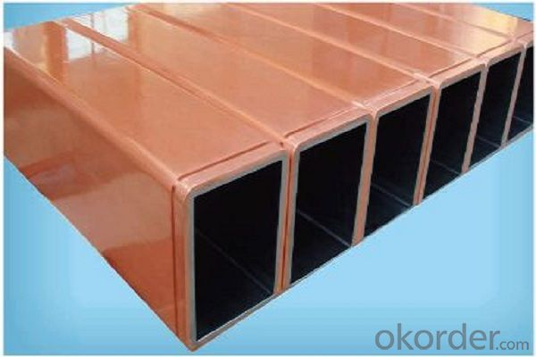 China supply copper mould tubes/copper mould tube