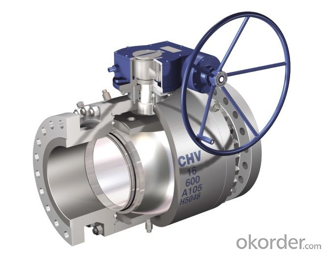 FTB Forging Steel Trunnion Ball Valve  API 6D/CE/ISO9001 CERTIFIED