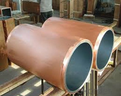 round copper mould tubes/copper mould tube