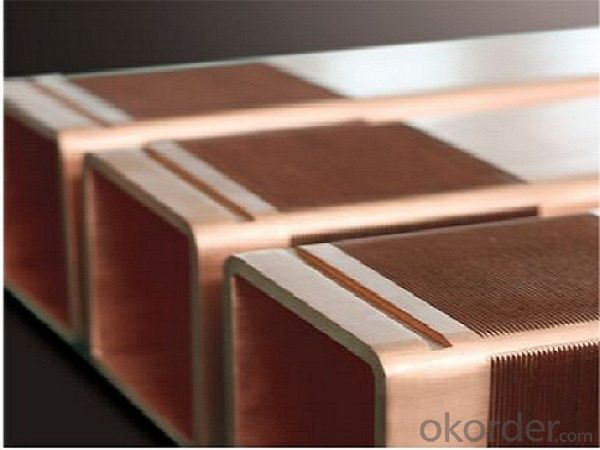 Non- standard copper mould tubes/copper moulds