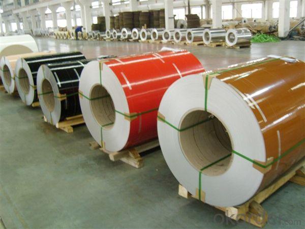 Wooden Grain Coating Aluminium Coil PVDF Painting