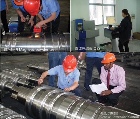 Roller for Steel Rolling Mill Forged Mill Roll