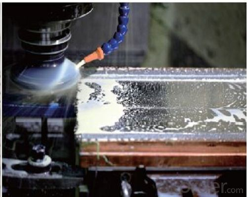 Slab copper mould plate/continuous casting copper mould plate