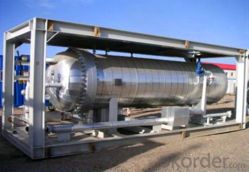 Heating Test Separator Using in Oil, Gas and Water