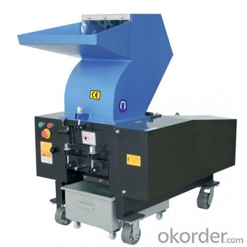 Sound Proof Granulator Waste Plastic Shreder Crusher System