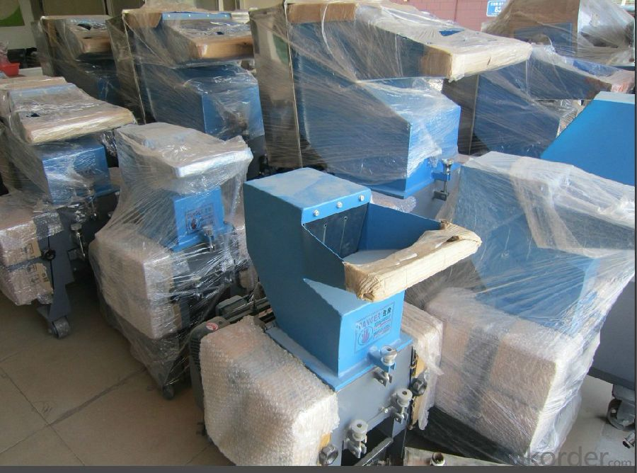 Plastic Film Recycling Machine Rubber Crusher