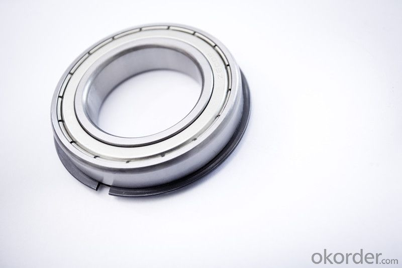 Bearings with snap ring for different kind of using