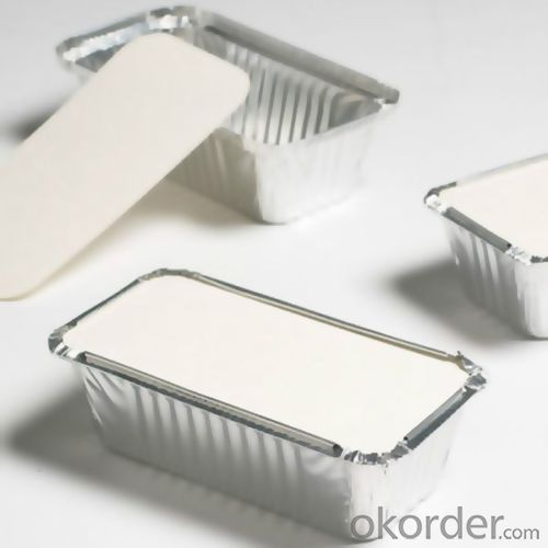 Lubricated Aluminium Foil for Food Container Trays