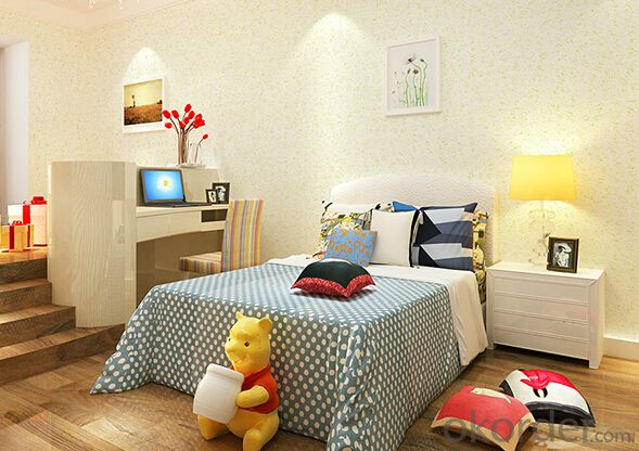 Eco-friendly Nature Fiber Wall Coating for Children