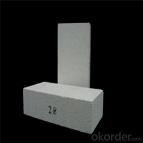 High temperature refractory corundum mullite brick
