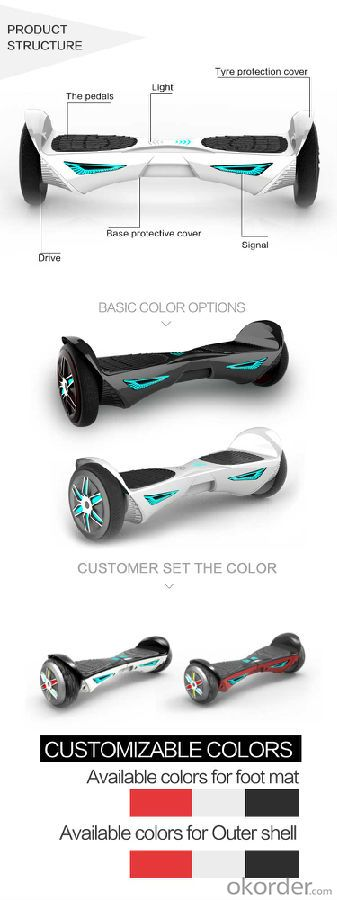 2016 JUFIT Batman Electric Scooter JFFOX4