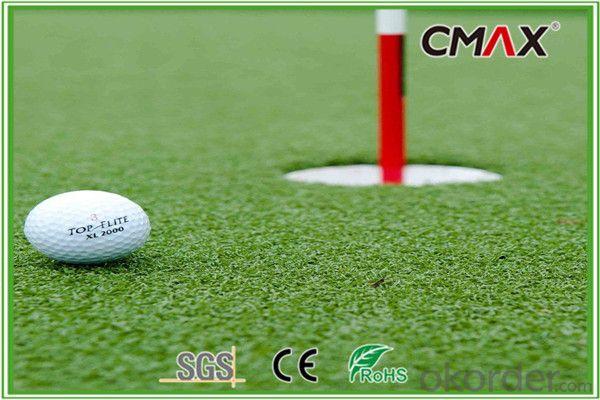 Golf Putting Green Artificial Grass in 12mm PP Pile
