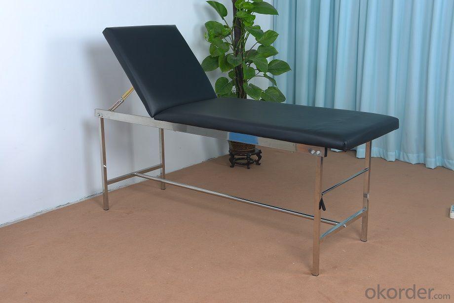Examination Bed Set Backrest Adjustable Examination Bed Stainless Steel Examination Bed