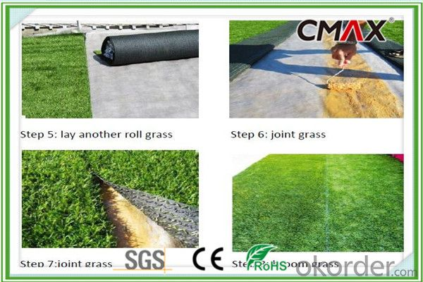 Colorful Yarn Turf for Running Track Artificial Grass
