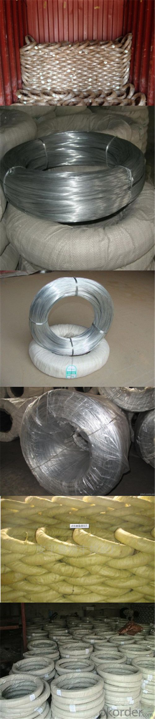 Building Materials Low Carbon Electro Hot-Dipped Galvanized Metal Wire