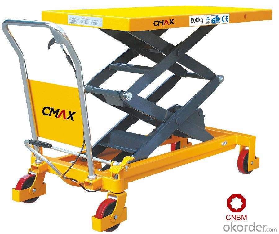 Lift Table Scissor Lift Table EU Type Manual Lift Table SP800/1000/1500