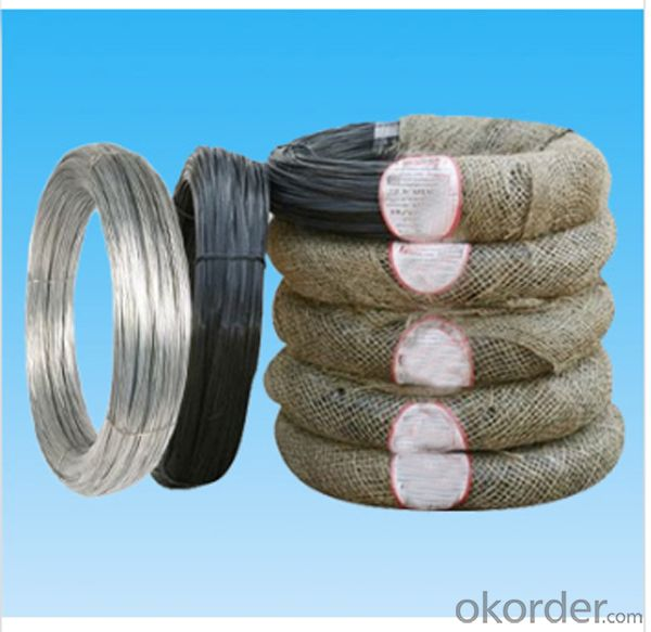 Galvanized and Black Iron Binding Wire
