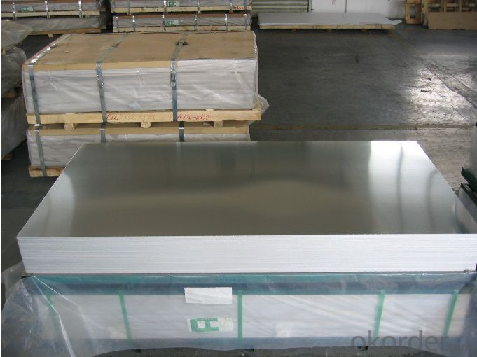 Mirror /6K/8K Surface Finish 5052 H34 Aluminum Sheet / Plate