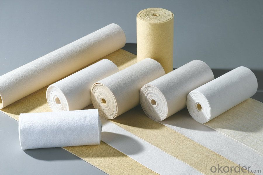 Polyester Non Woven needle felt used for dust filtration